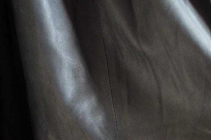 Comment j'ai sauvé ma jupe en cuir