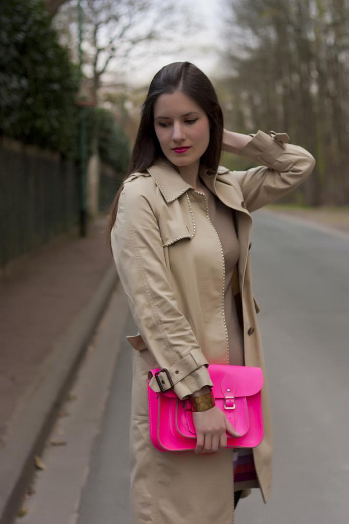 Le sac rose fluo