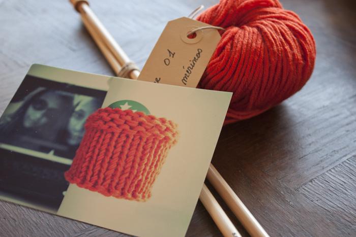 Pour celles qui ne savent pas tricoter, mais qui aimeraient bien.